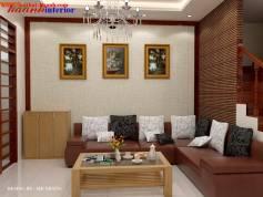 Thiết kế nội thất Biệt Thự làng Việt Kiều Châu Âu