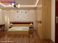 Thiết kế và thi công phòng ngủ biệt thự  nhà A tuấn làng việt kiều châu âu