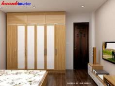 Thiết kế nội thất phòng ngủ liền kê Bắc Hà