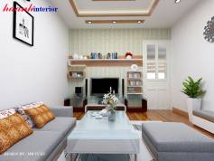 thiết kế phòng khách Chung cư Vạn Bảo