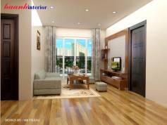 Thiết kế và thi công nhà A Long chung cư Hòa Bình Green