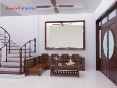 Thiết kế Sofa phòng khách khu An Hòa