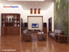 Thiết kế phòng khách căn hộ ở Trần Nhân Tông
