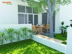 Thiết kế sân vườn đẹp độc đáo cho công trình Pack City Hà Đông
