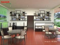 Thiết kế nhà hàng khu ẩm thực Almaz vincom