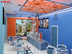 Thiết kế nhà hàng Almaz vingrup