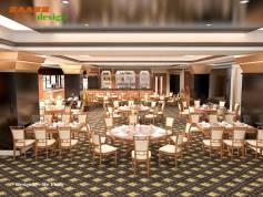 Thiết kế thi công nhà hàng khách sạn Hà Nam