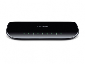 TP-LINK  Unmanaged Pure-Gigabit Switch TL-SG1008D