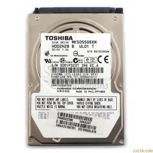 Ổ cứng MTXT Toshiba 500Gb 5400rpm SATA2