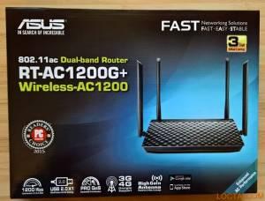 Thiết bị mạng Asus RT-AC1200G+