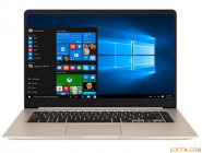 LAPTOP S510UQ-BQ321T (VÀNG GOLD) ALU , KB LED