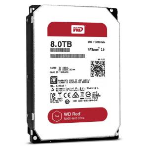 Ổ Cứng HDD WD Red 8TB WD80EFZX (Red)