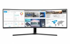 """Màn hình máy tính LCD Samsung LC49J890DKEXXV 49"""" 3840x1080"""