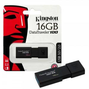 USB Kingston 16GB DT100G3 USB 3.0 (Đen)
