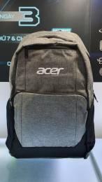 Balo Laptop Acer 15.6 Inch Chính Hãng (Màu Xám)