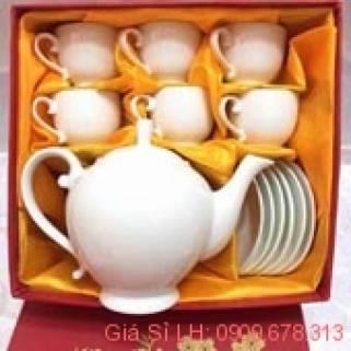 bộ tách trà sứ bát tràng