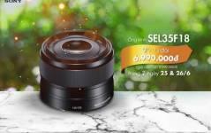 Hot Buy Sony SEL 35mm F1.8 với giá 6,990,000 tại Phú Quang