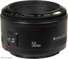 Lens Canon EF 50mm F1.8