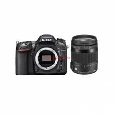 Combo Nikon D7100 + Sigma 18-200mm F3.5-6.3 DC OS HSM