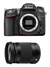 Combo Nikon D7100 body + Sigma 18-300mm F3.5-6.3 OS DC HSM