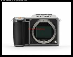 Hasselblad X1D - 50C Medium Format Mirroless