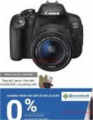 Combo Canon EOS 700D Kit 18-55 STM + Túi Canon M12110
