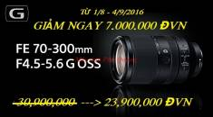 Sony FE 70-300mm F4.5 - 5.6 OSS