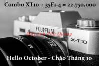 Combo Fujifilm Body + Lens - Giá tốt nhất