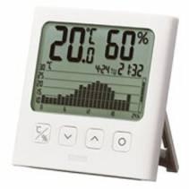 Nhiệt ẩm kế điện tử Tanita TT-580, với đồ thị nhiệt độ/độ ẩm