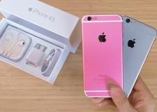 Đập hộp iPhone 6s màu hồng