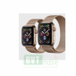 Apple Watch Series 4 Stainless Steel 44mm Case with Gold Milanese Loop Mới 100%