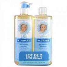 Sữa tắm - gội 2in1 sơ sinh Bebe Klorane