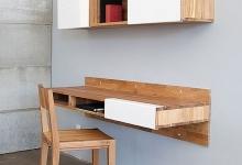 Những món nội thất gỗ tiện dụng cho nhà chật