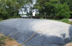 Xây dựng hầm biogas hdpe