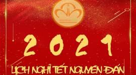 LỊCH NGHỈ TẾT NGUYÊN ĐÁN 2021 – NGUYÊN HÀ FOOD