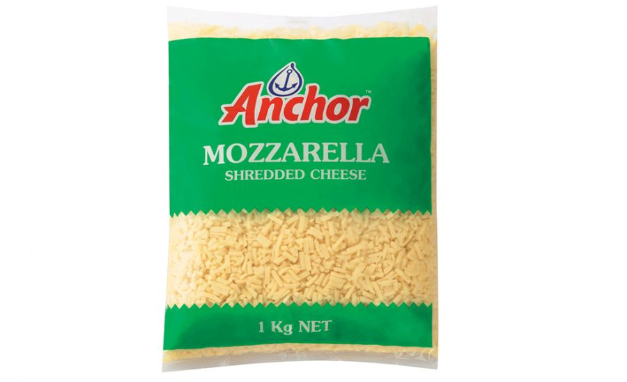 PHÔ MAI MOZZARELLA ANCHOR BÀO SỢI - ANCHOR MOZZARELLA CHEESE 1KG