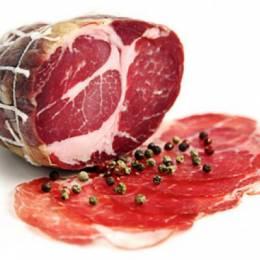 XÚC XÍCH KHÔ Ý COPPA CẮT LÁT- ITALIAN DRY PORK COLLAR (SLICED)