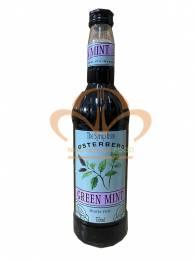 Si rô bạc hà Osterberg – green mint syrup (chai 750 ml)