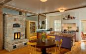 Thiết kế nội thất phòng bếp đẹp mang âm hưởng châu Âu