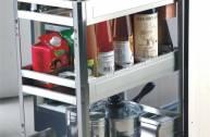 Căn bếp thêm tiện nghi nhờ phụ kiện tủ bếp