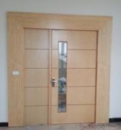Cửa gỗ công nghiệp MS 01