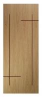 Cửa gỗ công nghiệp MS 02