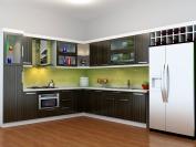 Tủ bếp gỗ công nghiệp MS11