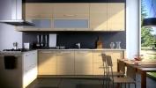 Tủ bếp gỗ công nghiệp MS12