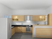Tủ bếp gỗ công nghiệp MS14