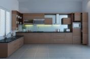 Tủ bếp gỗ công nghiệp MS16