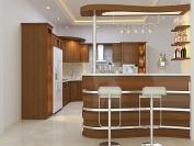 Tủ bếp gỗ công nghiệp MS21