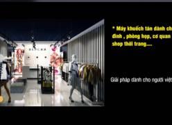 Máy khuếch tán và tinh dầu quế dành cho cửa hàng thời trang