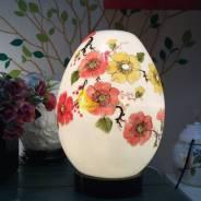 Đèn xông tinh dầu cao cấp Quả Trứng- Hoa
