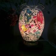 Đèn xông tinh dầu thuỷ tinh rạn số 10